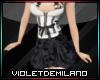 XXL SEXY BLACK&W DRESS