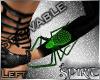 *S* Spider Cuff Left