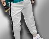 (MD) Fashion white pants