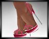 Pink Sun Dress Shoes