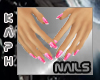 Small Hands - Pink nails