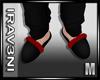 [R] Black Slippers V1 M