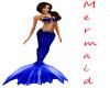 Dk Blue Mermaid  skinny