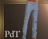 PdT Blue Summer Slacks M
