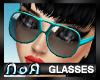 *NoA*Mod Glasses Blue