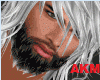 Wolfin Beard Black/White