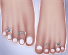 -S- Perfect Feet White S