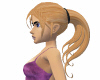 Blonde Bad girl hair