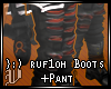 }:) ruf1oh boots+pant