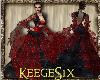 #KS#Gown BlackRed 2015