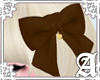 Lovely Ribbon Clip~Brown