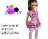 New Sheriff Ballet dress