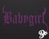 Babygirl - Purple