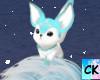 CK*Snowflake Fox Head  M