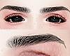 幸福.  Eyebrows Black