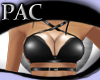 *PAC* Strapped Top Black