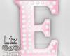 Baby Shower letter E