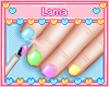 !! Kids Rainbow Nails