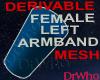 Female Left Armband Mesh