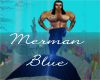 MrsJ Blue MerMan Tails