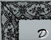 Lace frame (black)