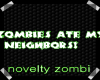 Zombies Ate... Sticker
