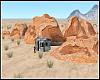 Desert Limestone Rocks