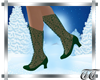 Noelle Boots in Evergree