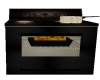 (D) BLACK ANIMATED OVEN