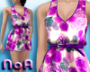 *NoA*Dress Purple+Flower