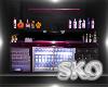*SK*Rocker Mini Bar
