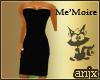 me'moire dress w/lace