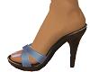 TF* Blue Sandals