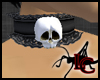 Skull Lace Collar B/B