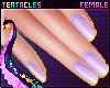 ⭐ Cute Nails Lilac
