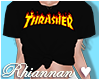 💙 Thrasher Tee Black