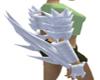 White arm blades