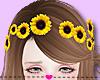 ❤ Sunflowers Crown