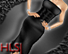 HLS BlackSilk Dress