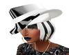 FG/ Black/White Hat Hair