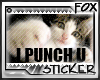 [F] Punching Cat Stamp
