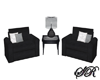 Eclipse Black Chairs