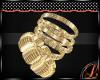 [L] Gold Bracelets