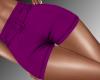 Elegant Shorts -Purple