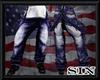 DarkBlue Supender Jeans
