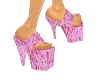 Pink Snakeskin shoes
