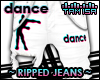 ! DANCE Ripped Jeans