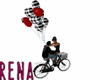 Flying Couple Bicycle