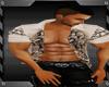 Tribal Muscle Shirt Brwn