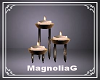 ~MG~ LD Floor Candles